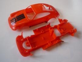 Porsche 911 bodem + kap oranje