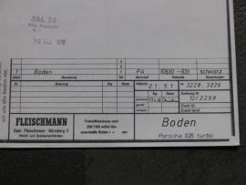3228 / 3229 Porsche 935 bodem