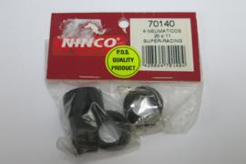 Ninco banden Super Racing 20 X 11 mm