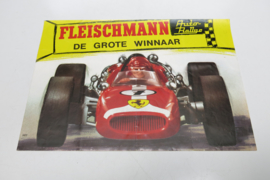 "Folder Fleischmann Auto-Rallye ""De grote winnaar"" (Ferrari)"
