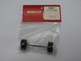 Ninco vooras GT3 BBS 59 mm.