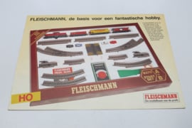 Folder Fleischmann treinen H0 (NL)