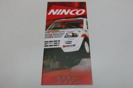 Ninco folder 2003 #1
