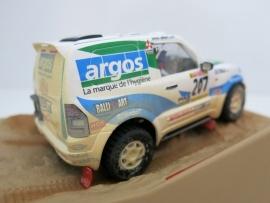 "Ninco Raider, Mitsubishi Pajero ""Argos"" Desert Dirt"