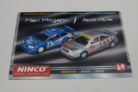 Ninco documentatie Maxi Megane / Audi A4