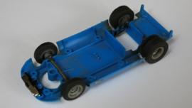 Alfa Romeo bodem blauw compleet met assen
