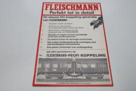 Folder Fleischmann treinen H0-Koppeling (NL)