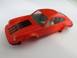 Porsche 911 kap oranje met bumpers (compleet) (KC KA137)