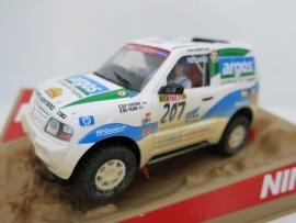 """Ninco Raider, Mitsubishi Pajero """"Argos"""" Desert Dirt (nieuw)"""