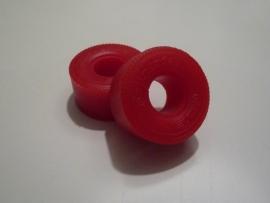 "Medium compound reprobanden (achter) met opdruk ""Continental"" (3710) Kleur: Rood"