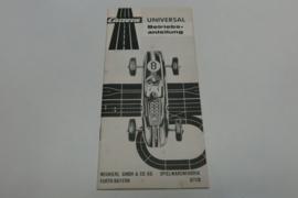 Carrera Universal gebruiksaanwijzing 67128