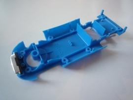 Alfa Romeo bodem blauw (met grill en uitlaten)