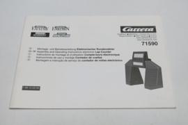 Carrera Universal gebruiksaanwijzing 71590 (rondenteller)