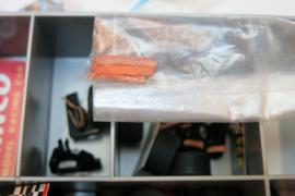Ninco, Fly, SCX etc. onderdelen in doos