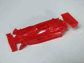 Test-shot Ferrari Niki Lauda kap rood (extreem zeldzaam)