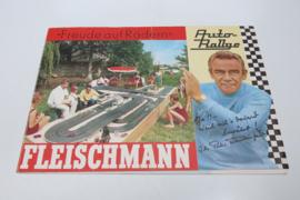 """Folder Fleischmann Auto-Rallye """"Freude auf Radern"""""""