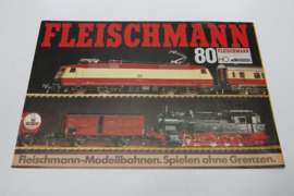 Folder Fleischmann treinen 1980 (DE)