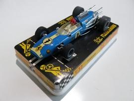 3201 Ferrari blauw nr. 7 (24 spaaks gril, gestempeld) (1ste uitvoering)
