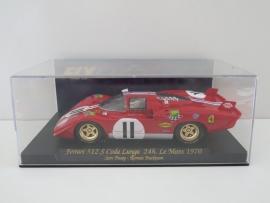 Fly Carmodel, Ferrari 512S Coda Lunga, 24h. LeMans 1970 rood