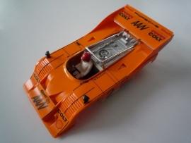 Porsche Can-Am kap + bodem oranje (compleet)