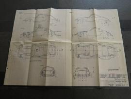 3224 - 3227 Porsche 911 kap (origineel)