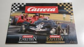 Carrera Evolution/Exclusiv catalogus 2002