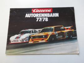 Carrera catalogus 1977/78 (DE)