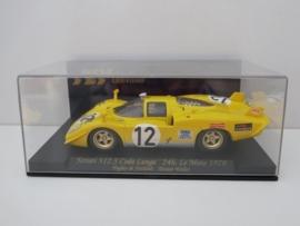 Fly Carmodel, Ferrari 512S Coda Lunga, 24h. LeMans 1970 geel