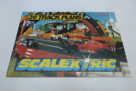Scalextric 36 Track plans 3rd edition
