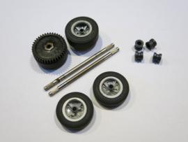 Ford Lotus voor- en achteras