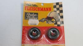 Fleischmann voor- achterbanden opdruk `Fleischmann Rallye` 3522 (ovp)