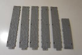 Ninco vangrails stenen muur
