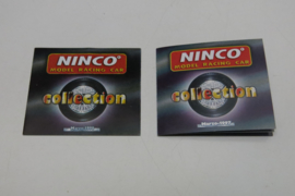 Ninco folder 1997 / 1998 (2 mini pocket's)