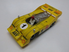 Porsche Can-Am geel nr. 1 (spiegels chrome)