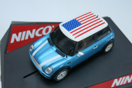 "Ninco, Mini Cooper ""Stars & Stripes"" Flag Series"