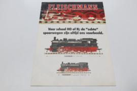 Folder Fleischmann treinen (NL)