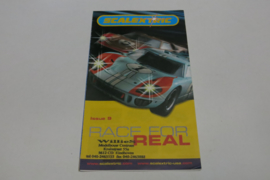 """Scalextric folder 9rd issue """"Race for real"""""""