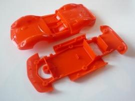Ford Lotus bodem + kap oranje