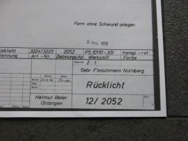 3224 - 3227 Porsche 911 achterlicht