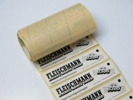 Fleischmann rol Geschwindigkeitsregler stickers (origineel Fleischmann)