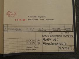 3240 BMW raam (origineel)