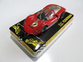 3220 Porsche Carrera 6 rood nr. 7