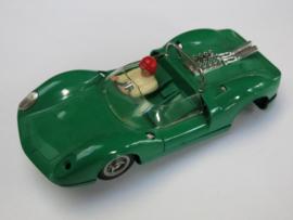 Ford Lotus bodem, kap, motor, vooras groen (incompleet)