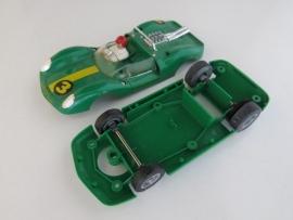 SOLD Ford Lotus bodem + kap groen nr: 3 (compleet)
