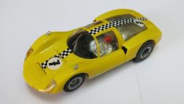 Porsche Carrera 6 geel nr.