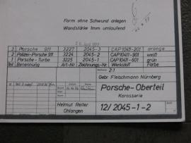 3224 - 3227 Porsche 911 kap