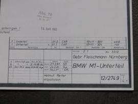 3240 / 3241 BMW M1 bodem
