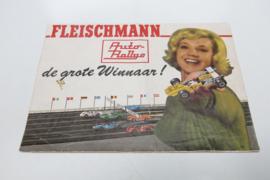 """Folder Fleischmann Auto-Rallye """"De grote winnaar"""" (cooper)"""