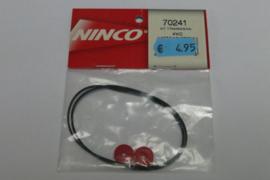Ninco aandrijfriemen 4WD kit
