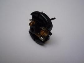 Motordeksel compleet zwart